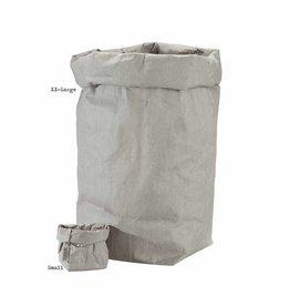 Uashmama Paper Bags Extra XX-Large grijs