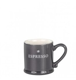 Bastion Collections Espresso Black with Espresso in White