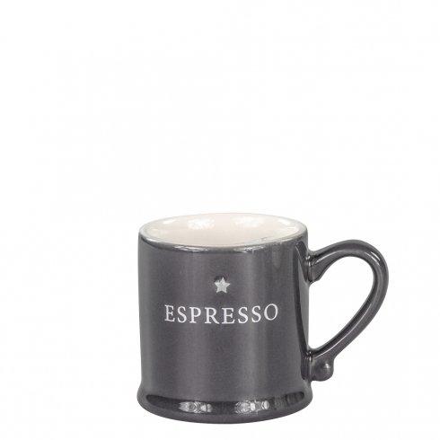 Bastion Collections Espresso Black with Espresso in White