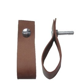 Bastion Collections Leather Handle Cognac