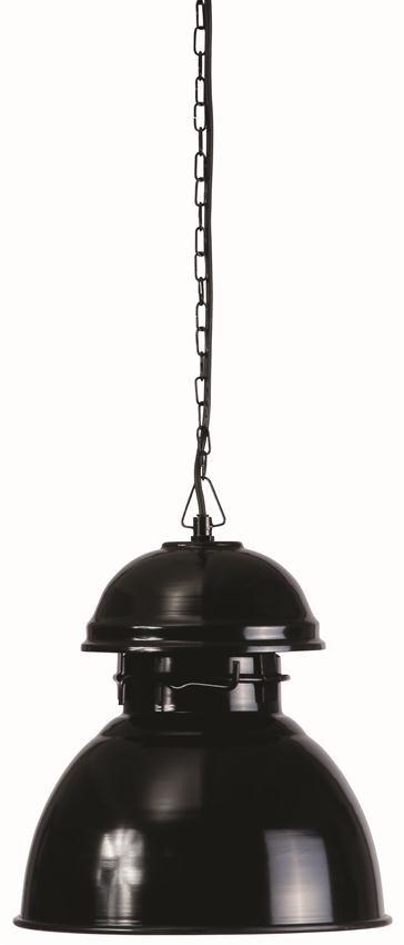 HKliving Industriële warehouse lamp M, zwart