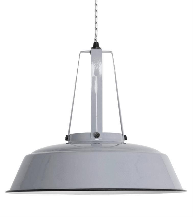 HK Living Industriële workshop lamp L grijs