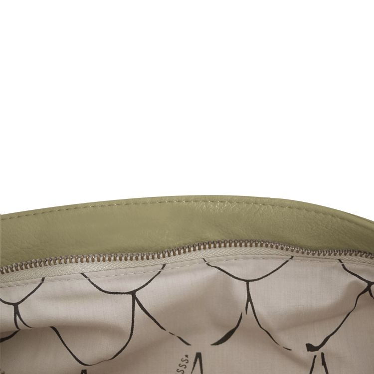 Zusss Eenvoudige tas L 40x35cm, olijf