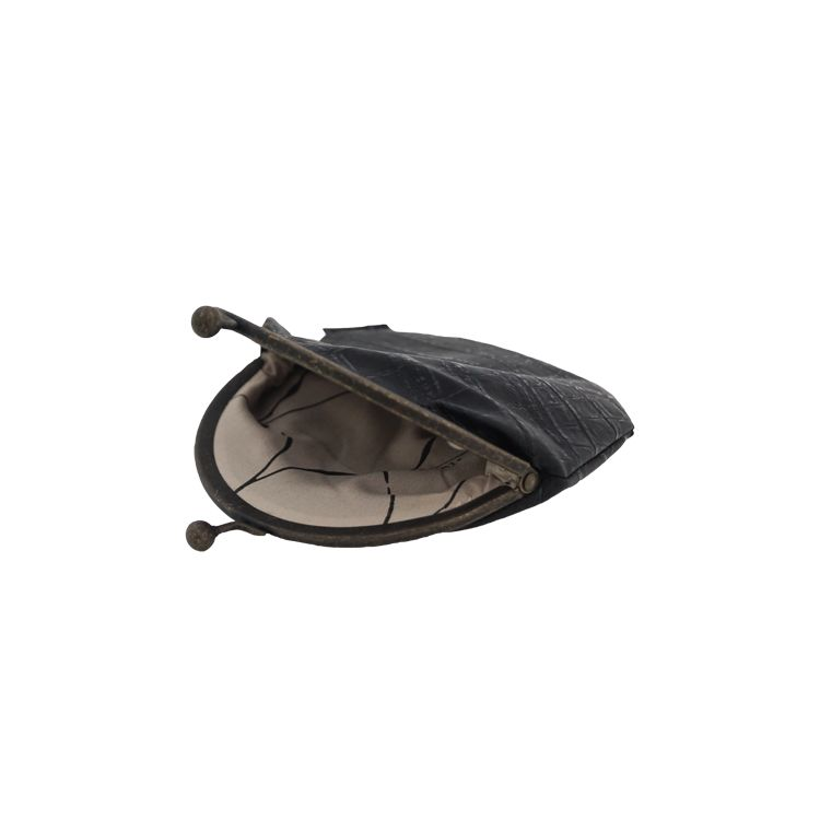 a45c135c8ef Zusss Knip/portemonnee 13x15cm, kroko zwart - label123