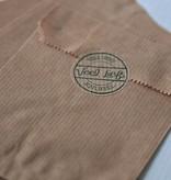 Papieren craft zakjes 12x18cm bruin, 10 stuks