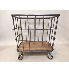 trolley/basket op wielen