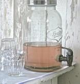 glazen limonadetap 3 liter