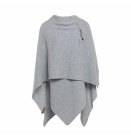 Knit Factory Omslagvest Jazz licht grijs