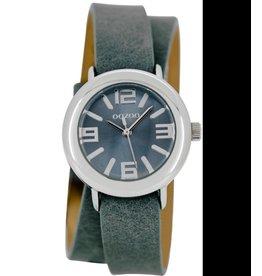 Timepieces C6826 blauwgrijs