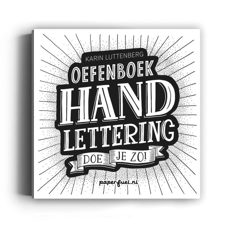 Paperfuel Oefenboek Handlettering doe je zo!