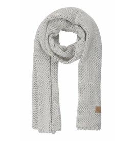 Zusss stoere wintersjaal grijs