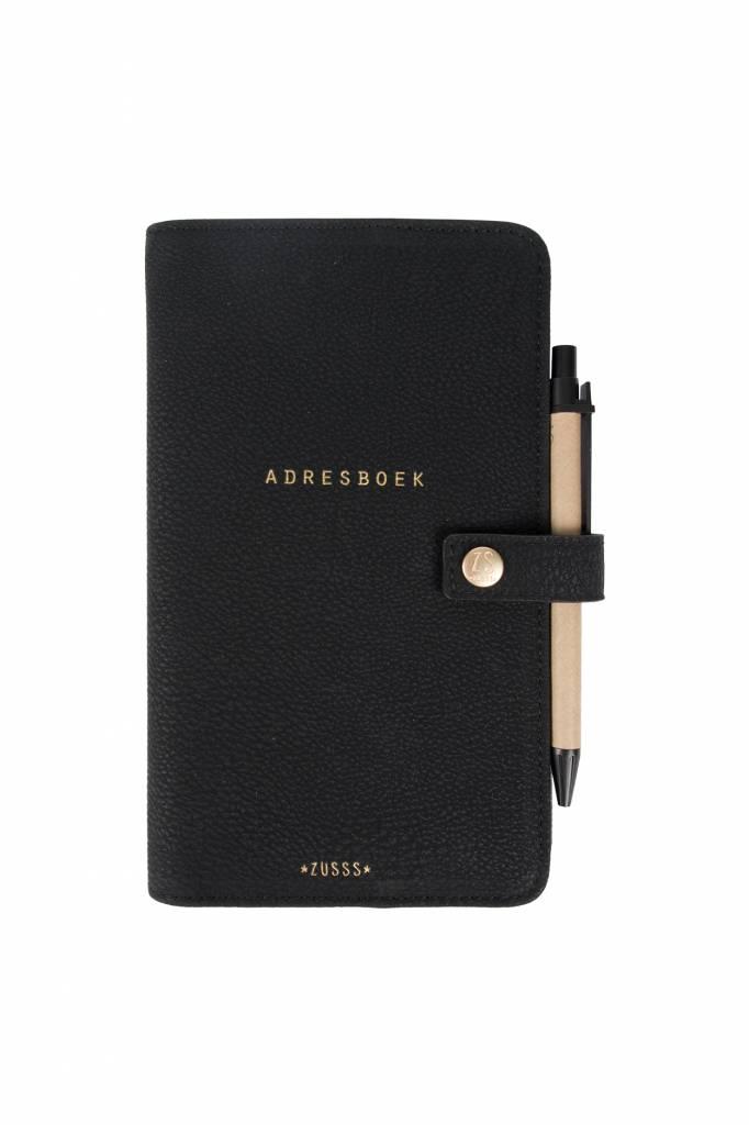 Zusss Adresboek zwart