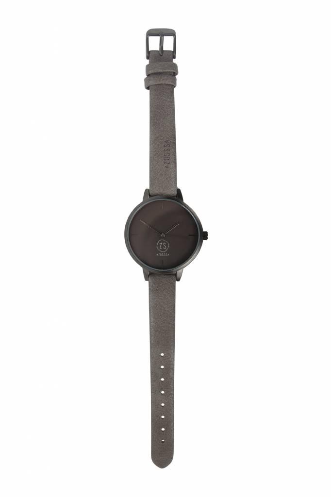 Zusss Hip horloge antracietgrijs