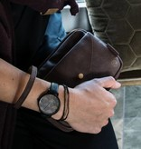 Zusss Hip horloge zwart