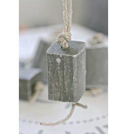 Puur Zeep hanger blok XL, grijs