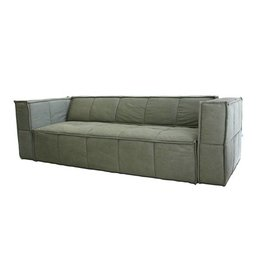 HK Living bank 4 zits canvas - army green