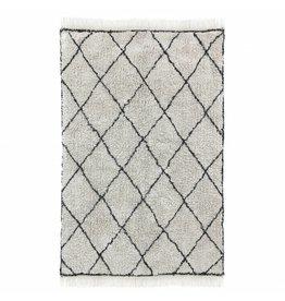 HKliving Katoenen vloerkleed ruit patroon 120x180