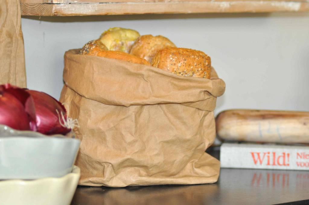 Uashmama Paper Bag Large Plus bruin