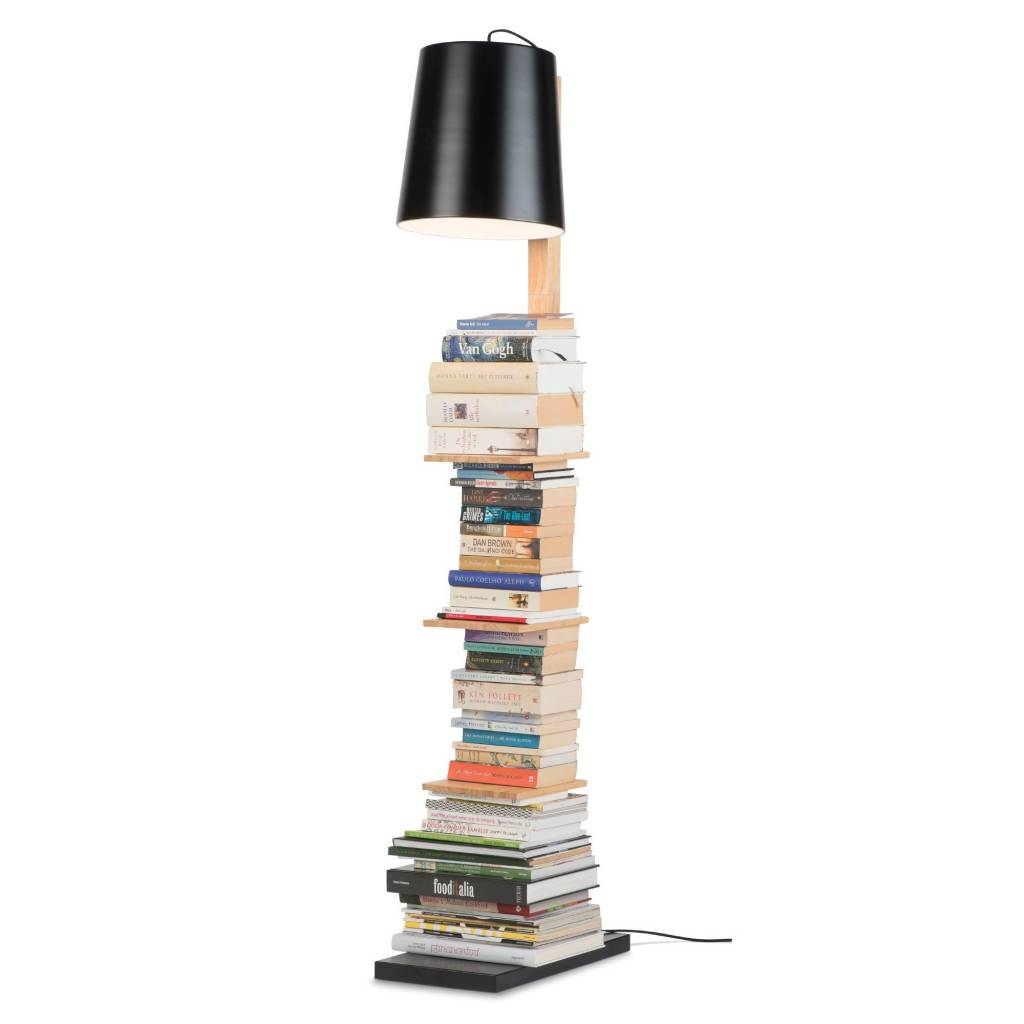 It's about RoMi Cambridge vloerlamp - zwart