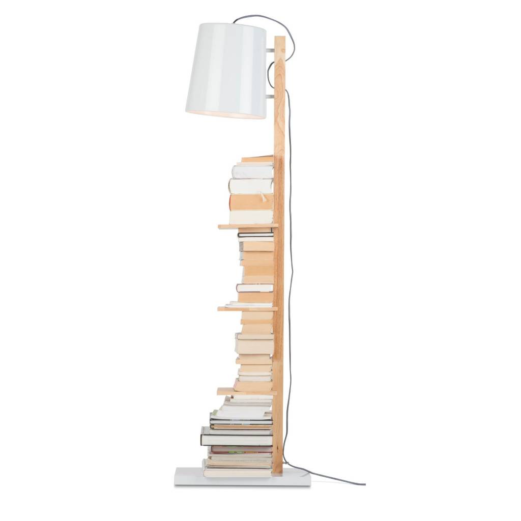 It's about RoMi Cambridge vloerlamp - wit