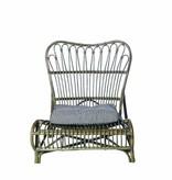 House Doctor Rotan stoel 90x55x80cm, bruin