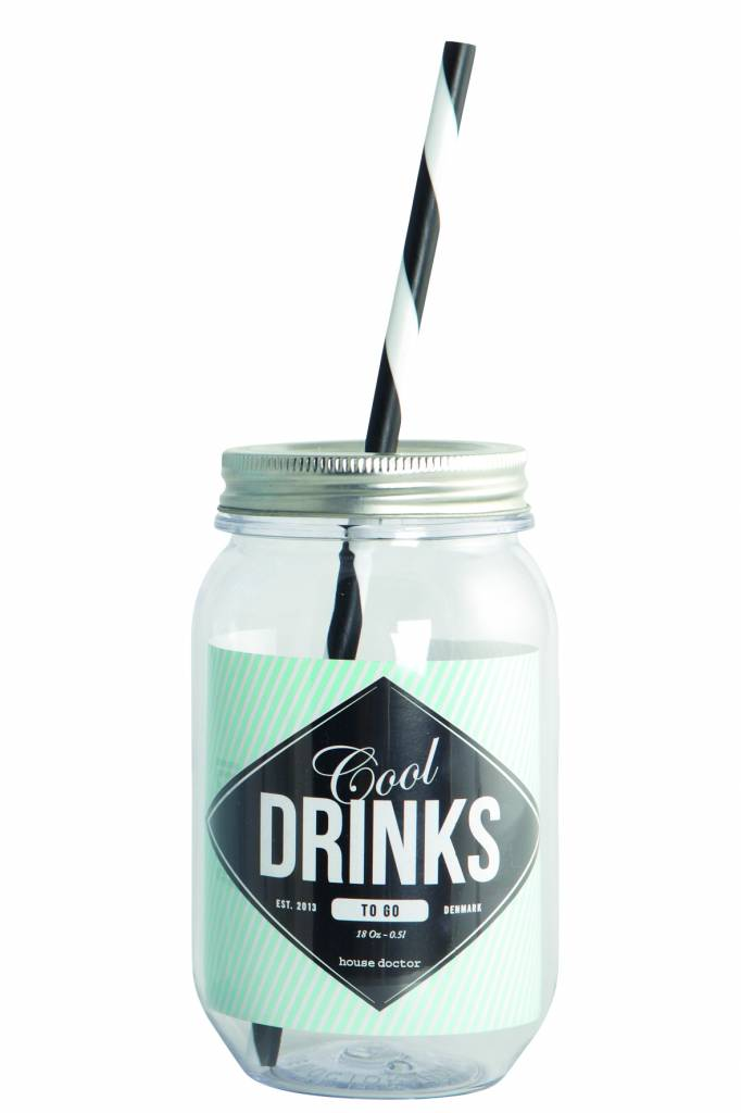 House Doctor Pint 'Cool drinks', 550ml