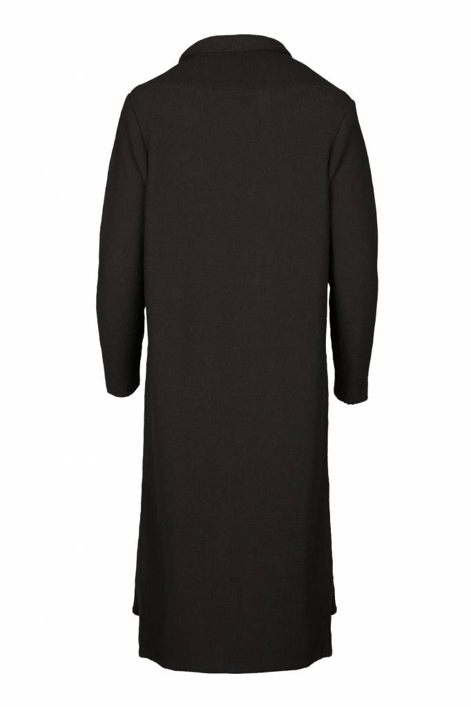 Zusss Lekker lang vest off-black S/M