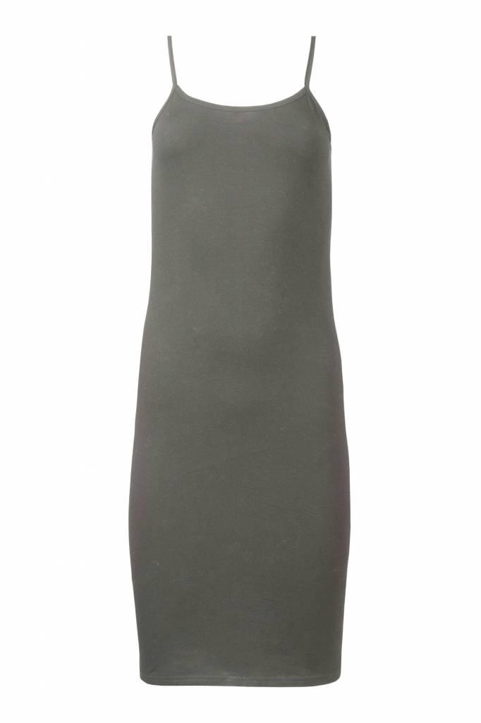 Zusss Basis onderjurkje grijs-groen