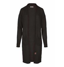 Zusss fijngebreid luchtig vest off-black L/XL