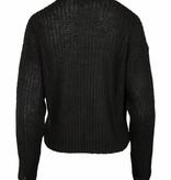 Zusss Lief kort vestje off-black  L/XL