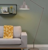 It's about RoMi Chicago vloerlamp - smoke grey
