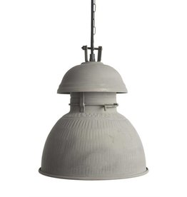 HK Living Industriële warehouse lamp M zink