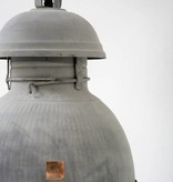 HK Living Industriële warehouse lamp XL zink