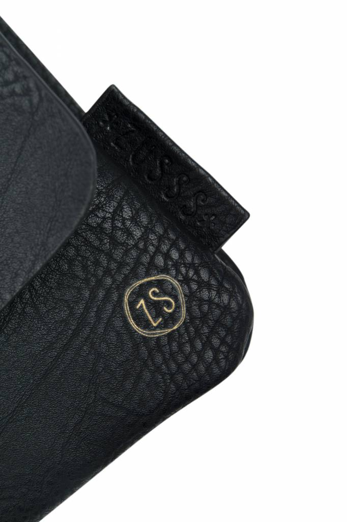 Zusss leuke schoudertas met flap S - zwart