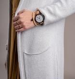 Zusss Hip horloge camel