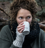 Zusss Koffiemok aardewerk -  grijs