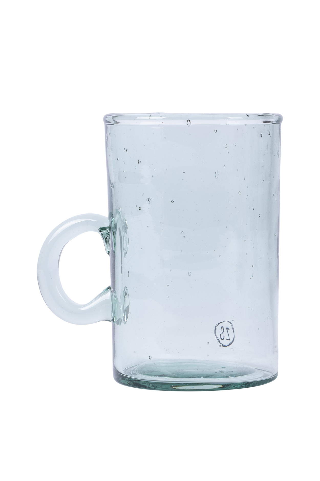 Zusss Theeglas gerecycled glas