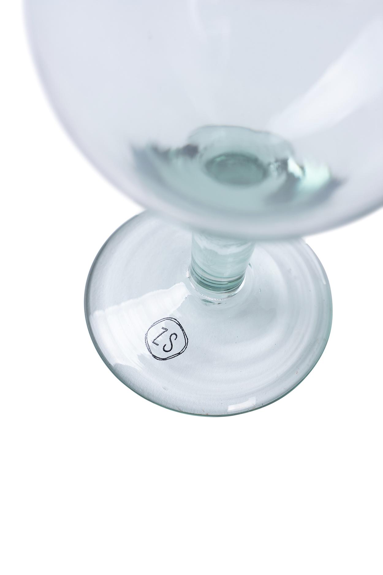 Zusss Wijnglas gerecycled glas