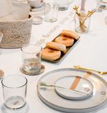 Zusss Dinerbord aardewerk -  wit