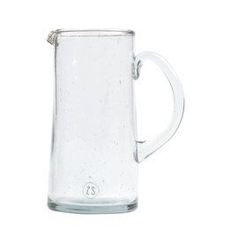 Zusss Waterkan gerecycled glas