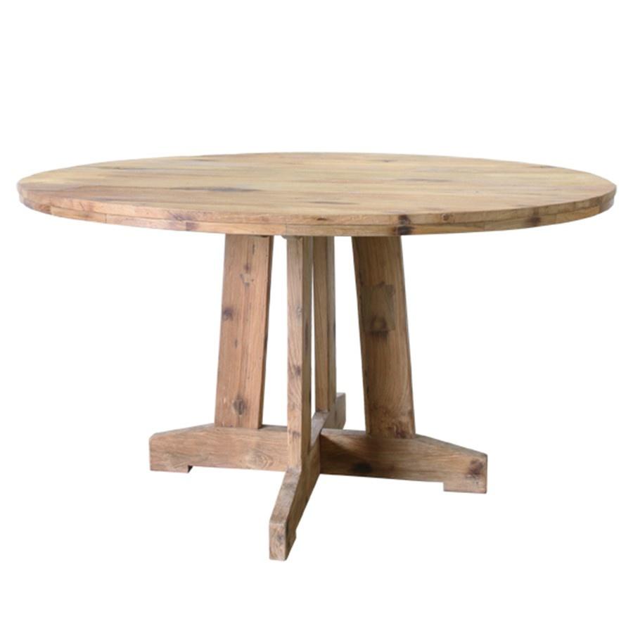 HKLiving Ronde tafel reclaimed teak 140x140x75cm, naturel