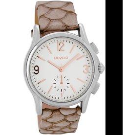 Timepieces C7226 pinkgrey snake