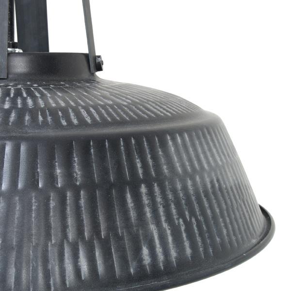 HK Living workshop lamp L rustiek mat zwart
