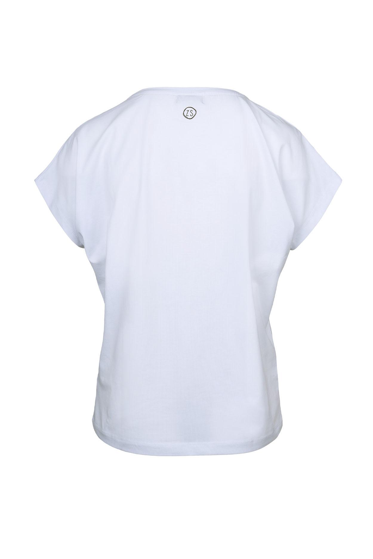Zusss Zusss tof basic t-shirt wit