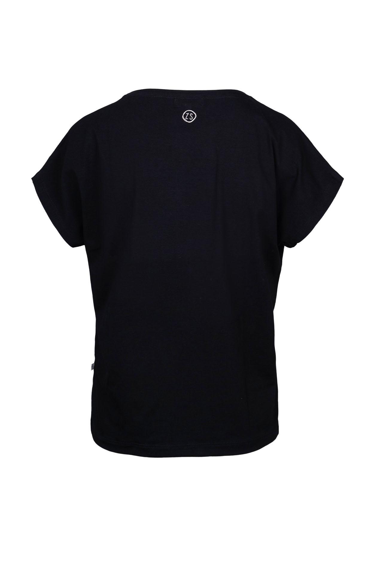 Zusss Zusss tof basic t-shirt zwart