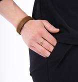 Zusss wikkelarmband vachtje - bruin