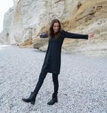 Zusss leuk jurkje travel - zwart