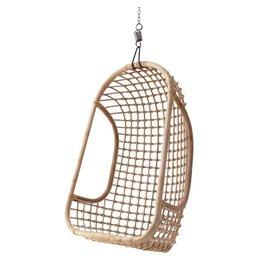 HKliving hangstoel rotan natural
