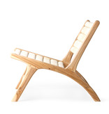 HKliving Abacu / Teak Lounge chair naturel
