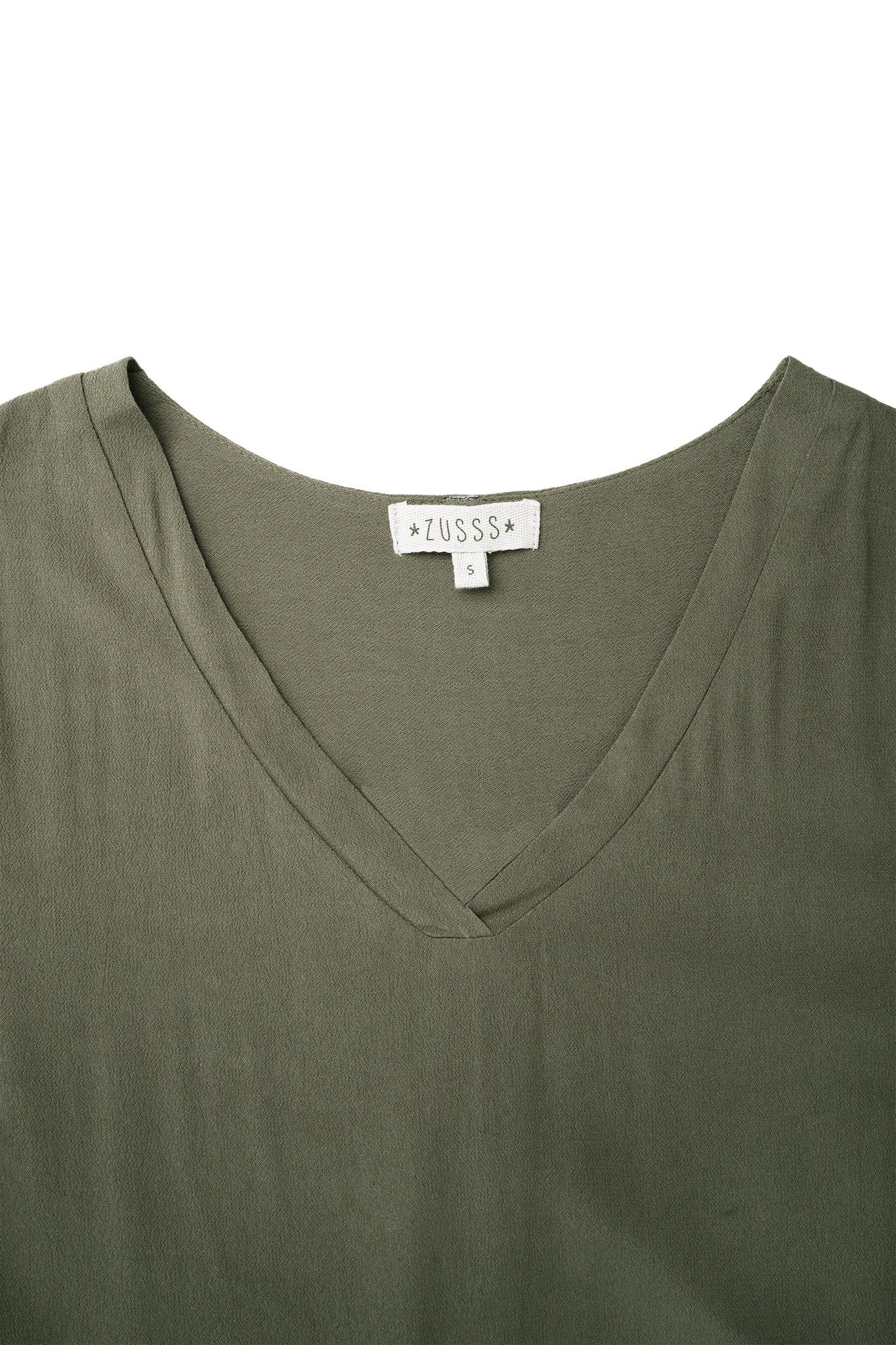 Zusss vlot jurkje - groen